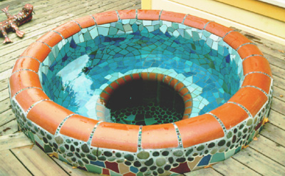 Mosaic Hot Tub